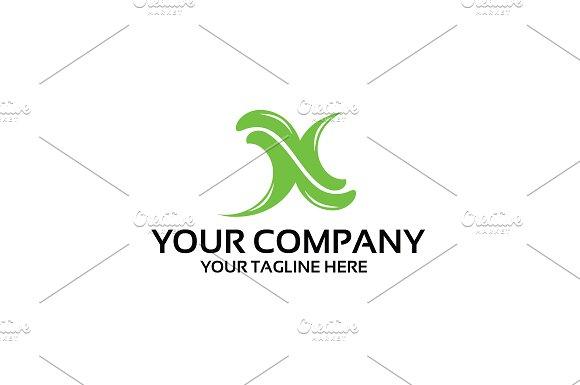 X Logo Template