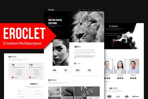 Eroclet - Responsive Muse Template