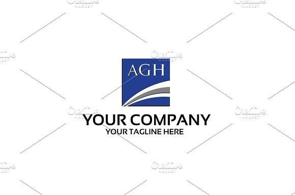 Agh Logo Template
