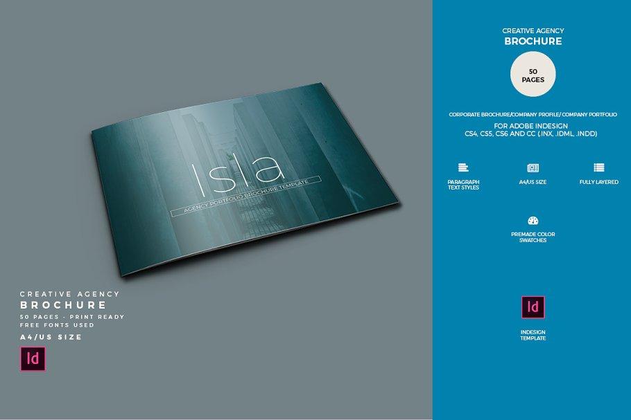 Agency Brochure Template ~ Brochure Templates ~ Creative Market
