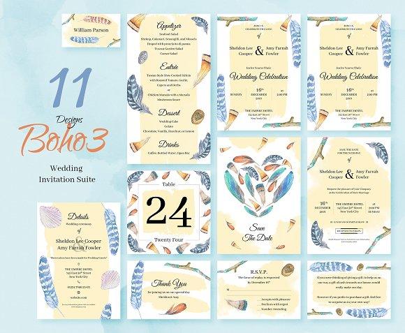 Wedding Invitation Package Invitations