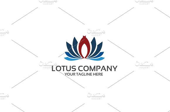 Lotus Company Logo Template