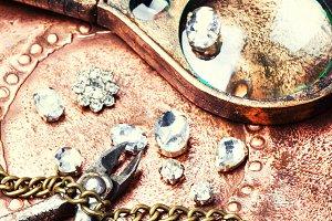 Precious stones for jewelry