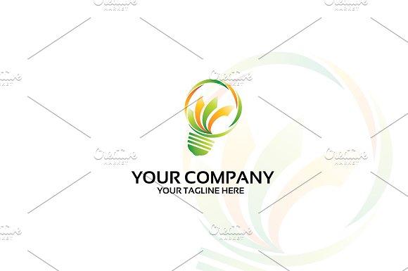 BookLamp Logo Template