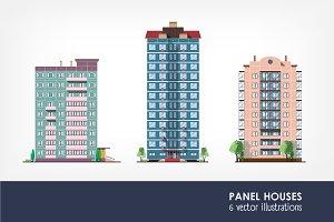 Panel residential houses