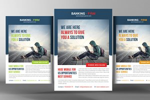 Banking Business Flyer Template