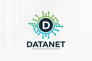 Data Net - Letter Logo