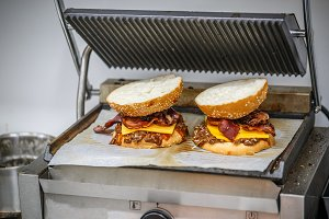Big tasty burgers