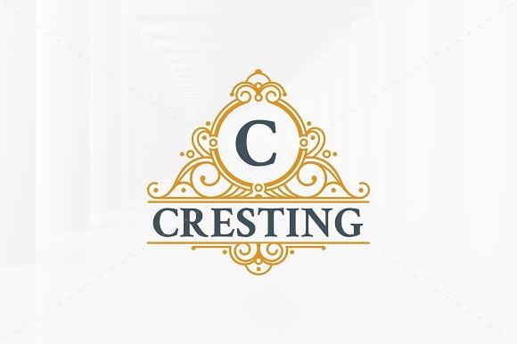Luxury Crest Letter Logo