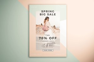 Spring Fashion Sale Flyer
