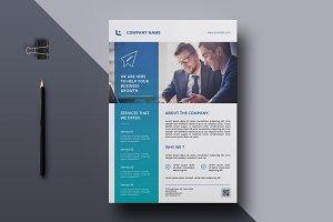Corporate Flyer-V785