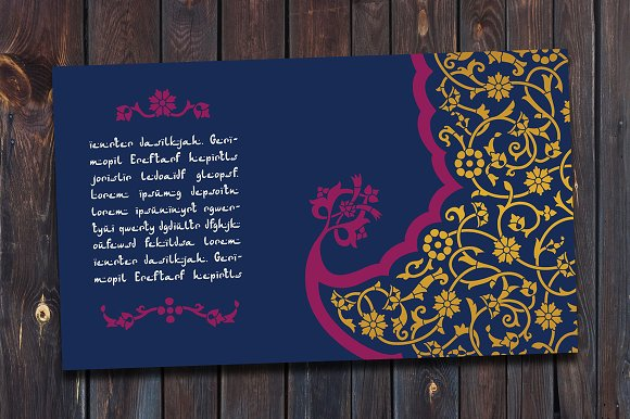Arabic Template