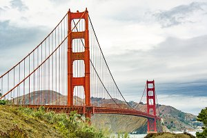 Golden Gate Bridge in SF
