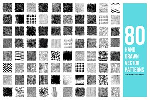 Нand drawn vector patterns