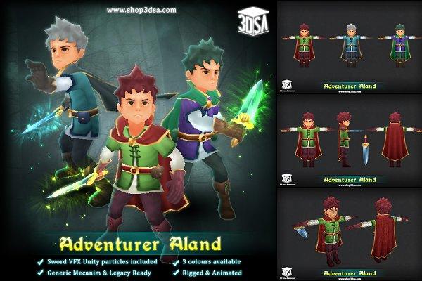 3D Fantasy: Meshtint Studio - Adventurer Aland