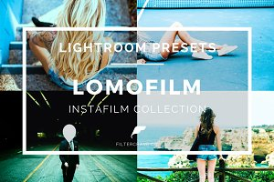 Lomo Film Lightroom Presets Theme