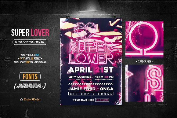 Super Lover Flyer $2 Off