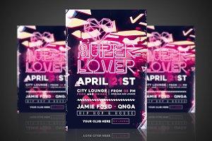 Super Lover - Flyer