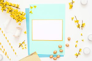 Easter Spring Holyday Card