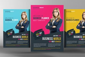 Business World Flyer Template