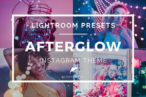 Afterglow  Lightroom Presets Theme