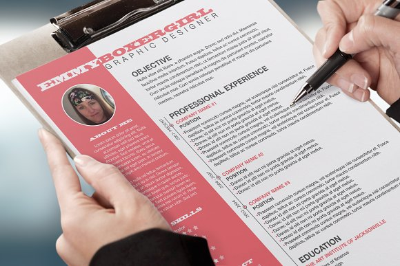 Resume & Cover Letter Template - Resumes