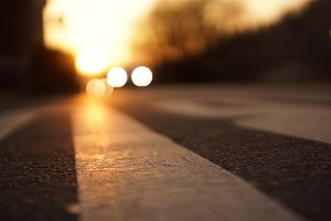 traffic dawn