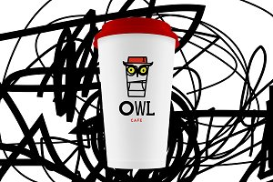 Owl cafe Logo