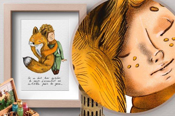 A Little Prince. Fairy tale.