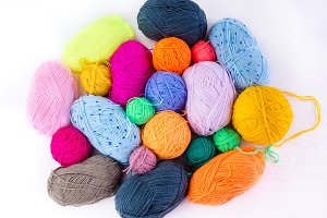 knitting ball of yarn