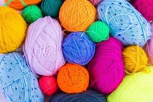 knitting ball of yarn