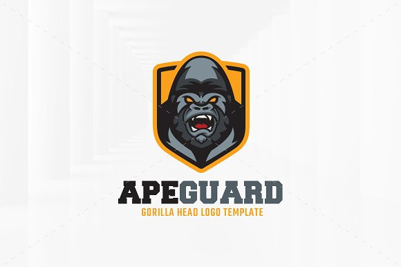 Ape Guard Logo Template