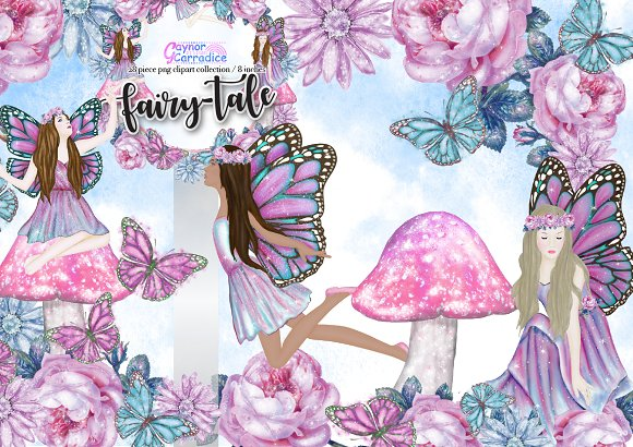 Fairy-tale Clipart Collection