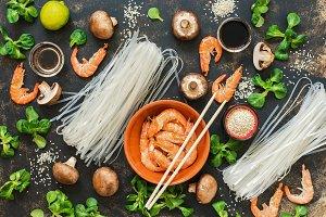 Asian cuisine.