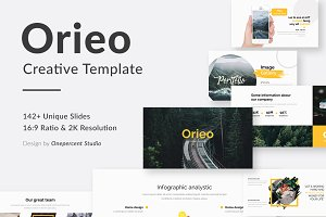 Orieo Creative Powerpoint Template