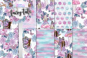 Fairy-tale pattern collection