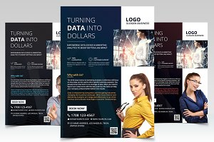 Business & Corporate - 3 PSD Flyers