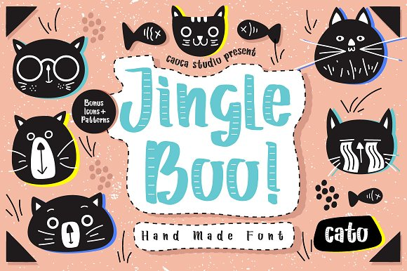 Jingle Boo Handmade Typeface