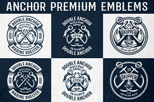 Anchor Premium Emblems