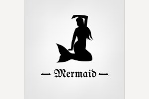 Vector Mermaid Image