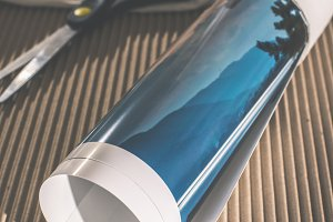 Packaging of printed wall art pictur