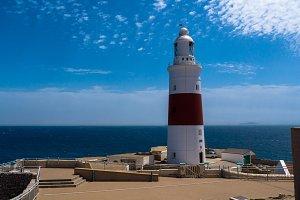 Punta Europa lighthouse, Gibraltar