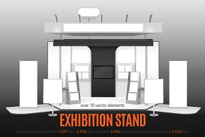 Exhibition Stand Set