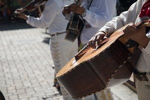 Festive Mariachi Band Playing
