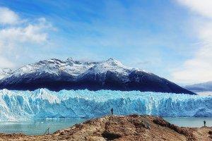 Patagonian Glacier Perito Moreno
