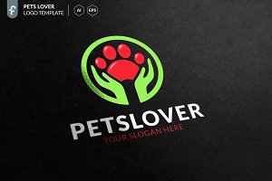 Pets Lover Logo