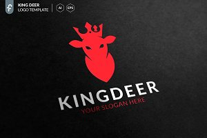 King Deer Logo