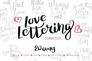 Love Lettering Collection vol.2