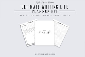 Ultimate Writer Life Planner Kit