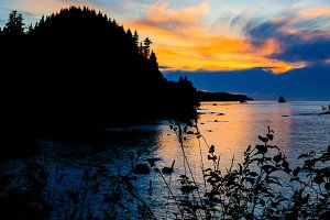 Sunset on the Olympic Peninsula